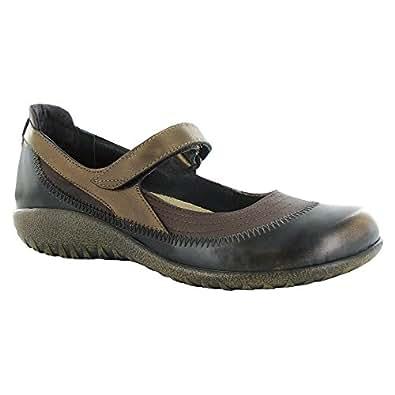 Naot Kirei Koru Women Flats Shoes, Brn Shim/Volcan Brn/Grecan Gld,Size - 35