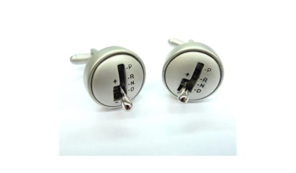 Tailor B Working Gear Shifter Cufflinks Automotive Car Gemelos NO BOX 160003-1 NB