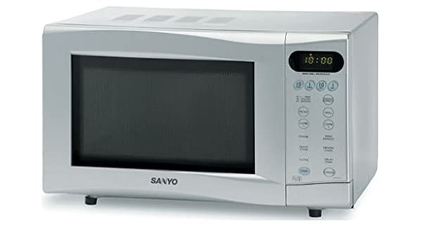 Sanyo EM-G4777S plateado tamaño familiar Control de toque de ...