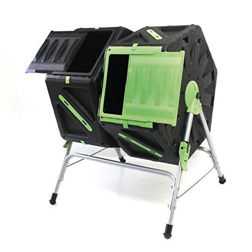 Tec Hit 390270 compostador rápido 2 senos 65 x 60 x 82 cm ...