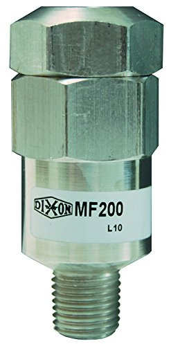 "Dixon 1/4"" FNPT x 1/4"" MNPT Aluminum Mini In-Line Filter (MF200)"