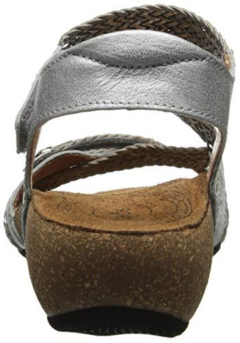 Silver Women's Taos Sandal Trulie Wedge rIdnxd4q