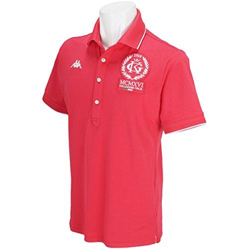 カッパ Kappa 半袖シャツ?ポロシャツ ITALIA ストレッチ ラインリブ半袖ポロシャツ