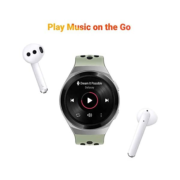 41ViyaJ a%2BL HUAWEI Watch GT 2e Active (Mint Green, 46mm, 2 Weeks Battery, Music Control, 100 Workout Modes, SpO2 & Heartrate Monitor…