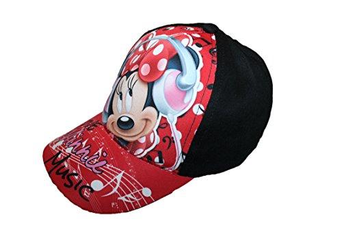 disney-casquette minnie-noire-fille