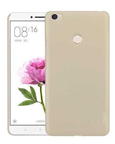 newest 362a6 bdfaf Johra Gold Golden Rubberised Slim Hard Back Cover Case For Xiaomi Mi Max