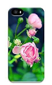 iPhone 5 5S Case Beautiful pink flowers photography 3D Custom iPhone 5 5S Case Cover