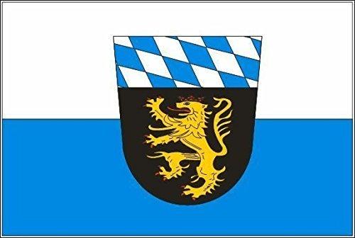 U24 Fahne Flagge Oberbayern Bootsflagge Premiumqualität 30 x 45 cm