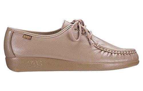 SAS Women's Siesta Lace Up Mocha Leather Size 8 Medium
