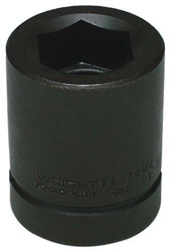 Wrightツール88 – 85 mm 85 mm 1インチドライブ標準6ポイントメトリックインパクトソケットby Wrightツール B01LWJFK5F