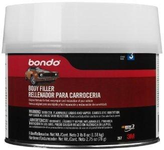 Bondo 267 1/2 Gallon Salmon Bondo Body Filler