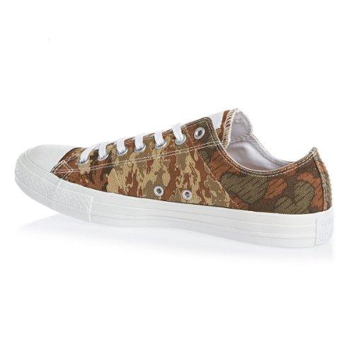 Converse - Zapatillas de skateboarding de lona para hombre marrón - marrón
