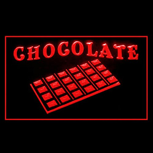 (110283 Chocolate Belgian Candy Cocoa Sweet Smooth Display LED Light Sign)