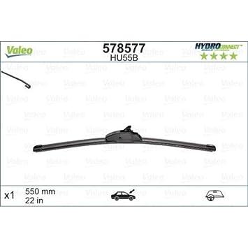 Valeo 578577 Escobillas de Limpiaparabrisas: Amazon.es: Coche y moto