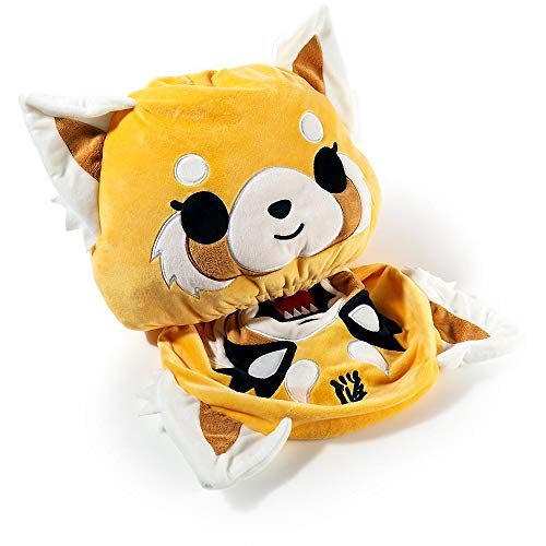 Kidrobot Aggretsuko: Sanrio Reversible Plush + 1 Official