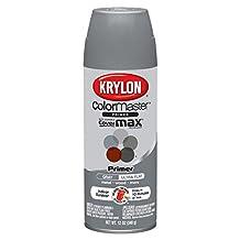 Krylon 51318 All-Purpose Gray Interior and Exterior Decorator Primer - 12 oz. Aerosol