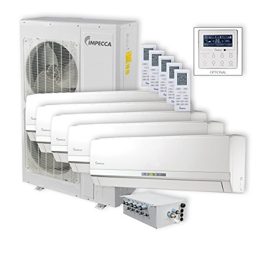 Impecca ISFW-6009X418 Flex Wall Mounted 5 Unit Combination Air Conditioners