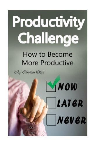 Productivity Challenge: How to Become More Productive (Productivity, Productive, Staying Focused, How to Focus, Time Management, Concentration, Life Habits, Productivity Habits)