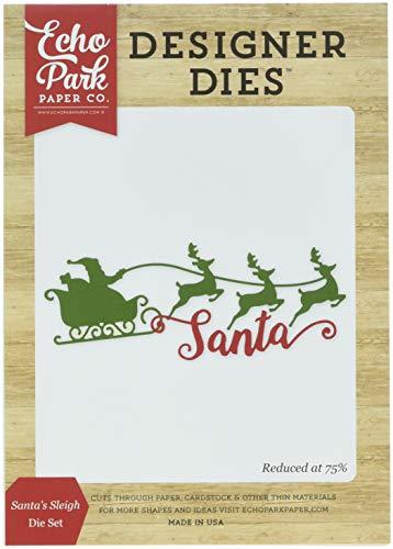 Echo Park Paper Company Santa's Sleigh Die Set