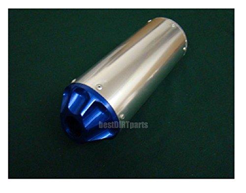 NEWANIME(R) HIGH PERFORMANCE EXHAUST MUFFLER PIPE LIFAN 90CC 125CC 140CC  SDG SSR 107 109 125 BLUE TIP