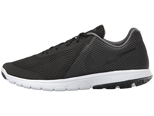 Men's Nike Flex Experience Run 6 Running Shoe Wide 4E Black/Dark Grey/White Size 9 Wide 4E (Nike Flex Run Mens Shoes)