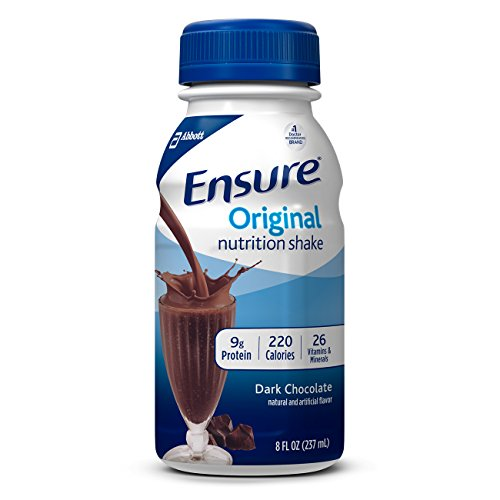 Ensure Original Nutrition Shake Bottles - Rich Dark Chocolate - 8 oz - 24 pk