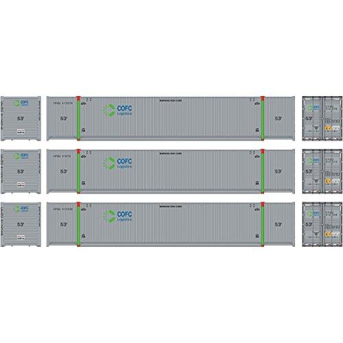 Athearn ath72585Ho RTR 53` CIMCコンテナ、COFC Logistics # 1(3)