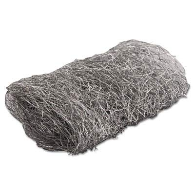 GMA Industrial-Quality Steel Wool Hand Pad, 4 Extra Coarse, 16/Pack, 192/Carton (117007) by GMA (Image #1)