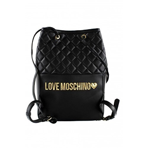Love Moschino Borsa Nappa Imbottita Trapuntata Nero - JC4202PP05KA000B