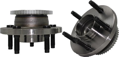 Crown Axle Hub Stud (Brand New (Both) Front Wheel Hub and Bearing Assembly Crown Victoria, Grand Marquis, Town Car 5 Lug W/ ABS (Pair) 513202 x2)