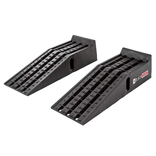 Black Widow PSR295 Set of Two Plastic Car Service Ramps