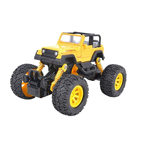 OWIKAR Pull Back Cars Alloy Diecast Truck Race Car Buggy Functions Toy Vehicles for for Kids Child Toddlers Party Favors,Die Cast Car Toy Play, Yellow by OWIKAR