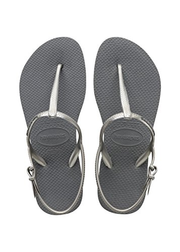 Freedom Femme Steel Gris Sandales Argent Havaianas dXwIxEqda