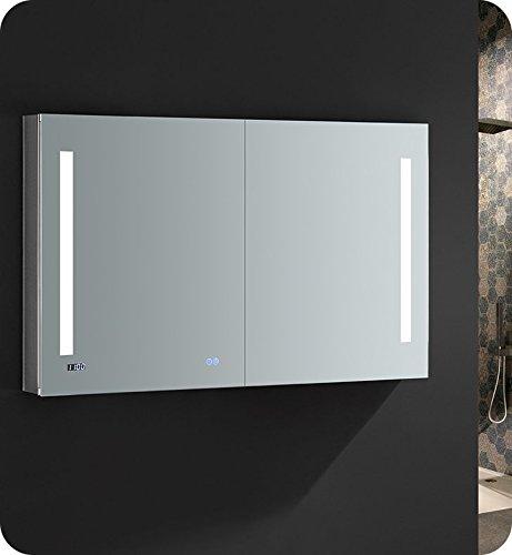 Fresca Tiempo 48 inch Wide x 30 inch Tall Bathroom Medicine Cabinet -