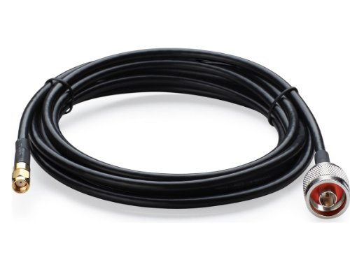 TP-LINK TL-ANT24PT3 3m/10ft N Male to RP-SMA Male Pigtail Cable, Best Gadgets