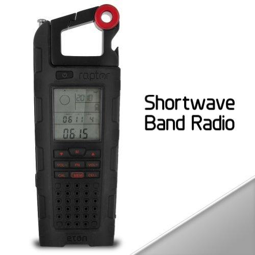 New Eton Raptor Solar Charge Emergency & Shortwave Band R...