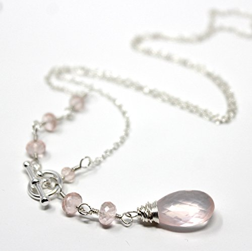 Quartz Briolette Necklace - 8
