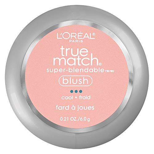 L'Oreal True Match Super-Blendable Blush, Baby Blossom 0.21 oz (Pack of 2) by L'Oreal Paris