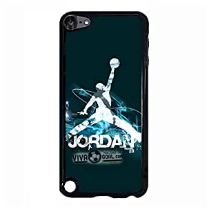 Air Jordan Cell Phone Case Classical Vintage the Logo of Air Jordan PlasticCover Case for Ipod Touch 5th Generation