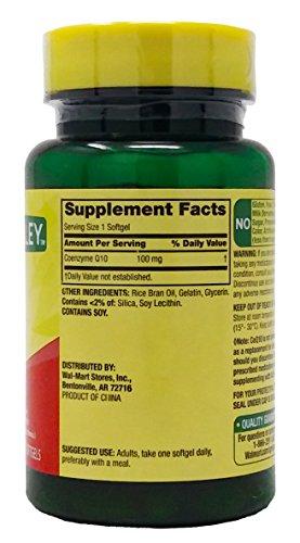 Rapid Release Coq10 100 Mg Heart Health 60 Softgels Plus Free Bonus 1 Mini Pill Container Discount