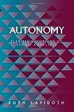 Autonomy, Ruth Lapidoth, 1878379631