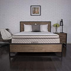 """Comfortable by nature, our Elements Latex by Dreamfoam Bedding- Willow 12"""" Latex Mattress is custom crafted with a 1"""" quilted top with soft reflex foam and 3"""" of Talalay Latex foam that instantly contours to the curves of your body for except..."""