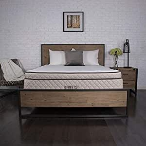 "Elements Latex by Dreamfoam Bedding- Willow 12"" Eurotop Latex Mattress, King-Soft"