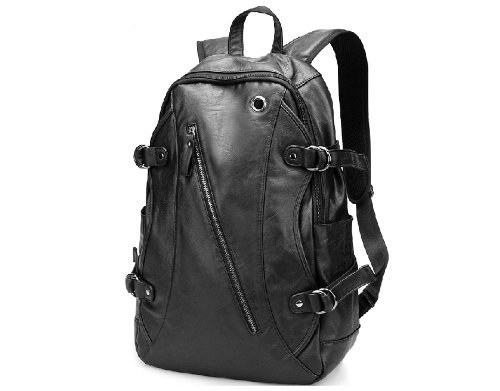 ZeleToile Mochila casual Schoolbag Mochila escolar para colegio Bolsa al hombro Bolsa para PC Tableta portátil de 15 pulgadas (negro)