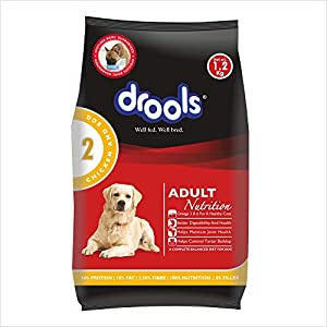 Drools Chicken and Egg Adult Dog Food , 1.2kg