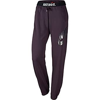 19014fc09 Nike Women's Rally Metal Loose Jogger Pants (Noble Purple, S), Pants ...