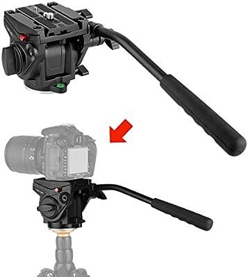 VT-3510 trípode líquido Heavy Duty cámara de vídeo Drag Pan Cabeza ...