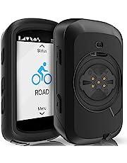 TUSITA Etui Silikon kompatybilne z Garmin Edge 530 - Pokrowiec Silikonowy Ochronne - Akcesoria do GPS na Rowerze