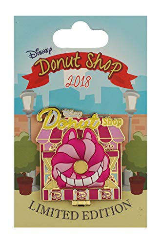 WDW Trading Pin - Donut Shop - Pin of the Month - Cheshire Cat