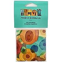 MARCADOR DE PÁGINA - MARIA EUGÊNIA - JAZZ, GM0018, Colorido, pacote de 3